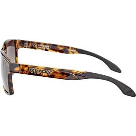 Rudy Project Spinair 57 Lunettes de soleil, demi gloss/brown deg